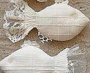 materiałowe dekoracje /zabawki