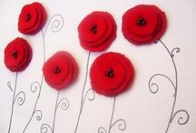 Poppies / Handmade