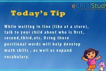 eChildStudy Tips / Advisor Tips