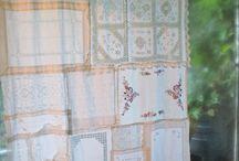 Cortinas hechas con tapetes