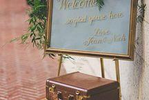 Wedding Design / Décoration lieux du Jour J