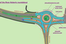 Find Roundabouts in Chicago Metro / Roundabouts are very popular in Europe, especially France. They are quire a rarity in Illinois. Here are the few.