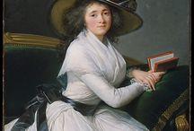 women's portraits 1780s