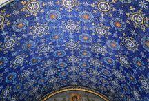 Mosaiken Byznaz/frühes Christentum