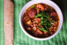Frijoles!!! Frijoles!! Frijoles!! / Recipes made with beans - pinto beans, garbanzo beans, lima beans, kidney beans, etc.
