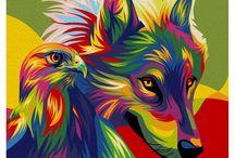 hewan warnawarni