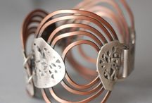 Biżuteria miedziana (Copper in jewelleries) / Copper in jewelleries, beautifull items..