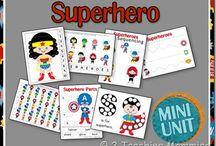 superhero unit planning