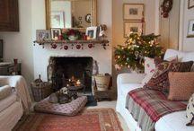 English Christmas Cottage