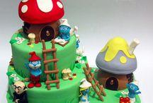 šmoulové dorty