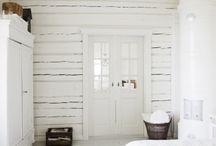 White Attic Decorating ideas