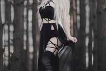 Goth\Alternative\Punk rock\Metal styles,outfits