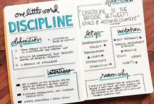 2018 word Discipline