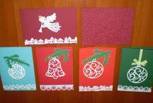 Vánoční tvoření / dekorace, papírové tvoření,