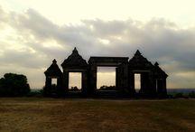 Temples / Ratu Boko Temple