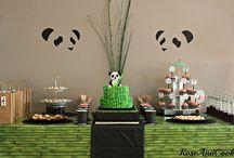 c'est la fête // anniversaire panda
