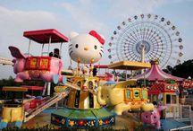 "HELLO KITTY HAPPYLAND ""สวนสนุกเฮลโลคิตตี้"" ประเทศจีน"
