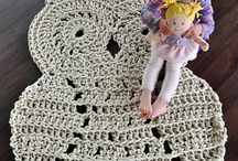 crochet it up Mom /  to inspire Mom; to be productive on her free time ~  make us cool things ~ Gift keepsakes to her grandbabies ~Maybe even to sell some of her awesomness.  / by Danie Andrews
