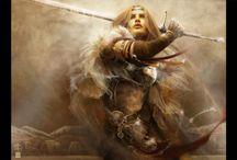 Medieval Warrior Ref Board