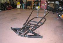 Go cart frames