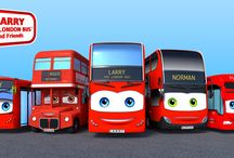 Larry the London Bus and Friends