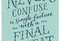 Inspirational text