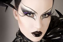 Stage Makeup - Fantasy / Creative Inspiration for You - Using Ben-Nye and Mehron products from Musson, you can create fantastical stage makeup designs like these.