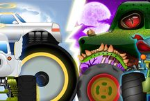 Haunted House Monster Truck / With over a million views in each of the videos this series is surely one loved by kids across the globe. Find out more about the Haunted House Monster Truck on KIDS CHANNEL!