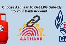 Aadhaar Card Seeding To LPG Gas Connection / Link your lpg gas like HP gas, bharat gas, Indance gas with aadhaar card to get subsidy in to bank account.