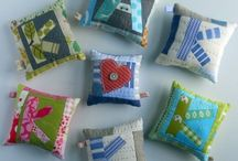 Quilting, sewing, or craft ideas / Quilt, clothing, gift ideas involving the sewing machine.