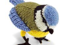 birds crochet knit patterns