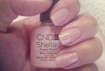 CND Shellac Pink Shades