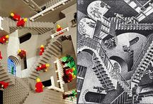 My fascination with M C Escher / by Patti Orman