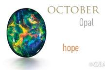 October Birthstone - Opal / Opal designs