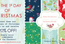 12 Days of Christmas / Countdown our 12 days of Christmas 2015 - with some yummy offers