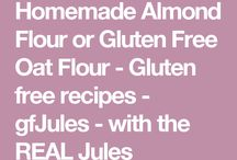 Homemade almond flour