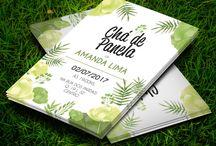 Chá de Panela Floral Verde