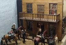 Diorama del Oeste