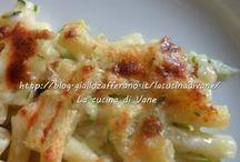 Pasticcio con zucchine