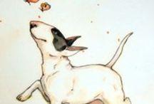 Bull Terrier art