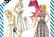 Sewing Patterns : HALTER DRESS