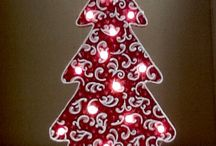 Crafts - Wood Christmas Trees
