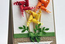Pinwheel card / Pinwheel card