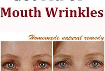 mouth wrinkles