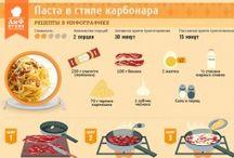Рецепты: Паста / Макароны