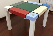 Hand-Painted Tables & Furniture / Hand-Painted Tables & Furniture by Michael Carlton