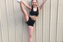 My Chassé Way / Cheer gear lover spotlight on athletes sporting our Chassé Cheer brand clothing and accessories. Show us how you wear Chassé!