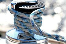 """Jachtowo / """"Odwiąż liny opuść bezpieczną przystań. Złap w żagle pomyślne wiatry. Podróżuj. Śnij. Odkrywaj."""" - Mark Twain"""