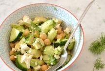 Veggies: Chick peas