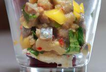 Matjes / Fotos von Matjes mit Sauce, Matjes Salat und Matjes Tatar